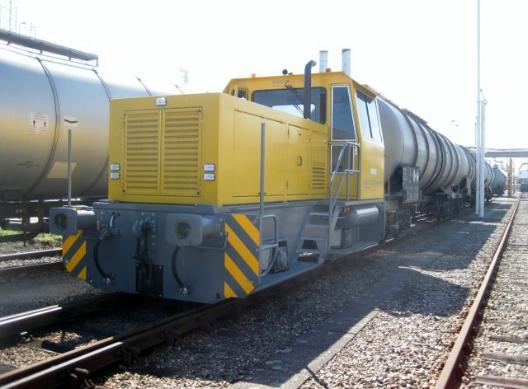 Diesel Rangeerlocomotief BRD80 - Vopak