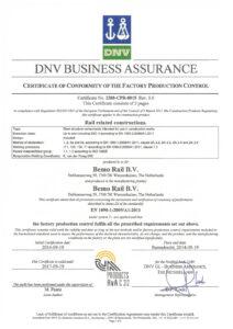 EN 1090 exc 4 certificaat