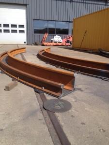 kunstwerk Leeuwarden rails