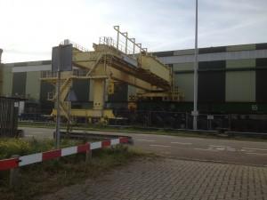Tata Steel renovatie PAF kraan