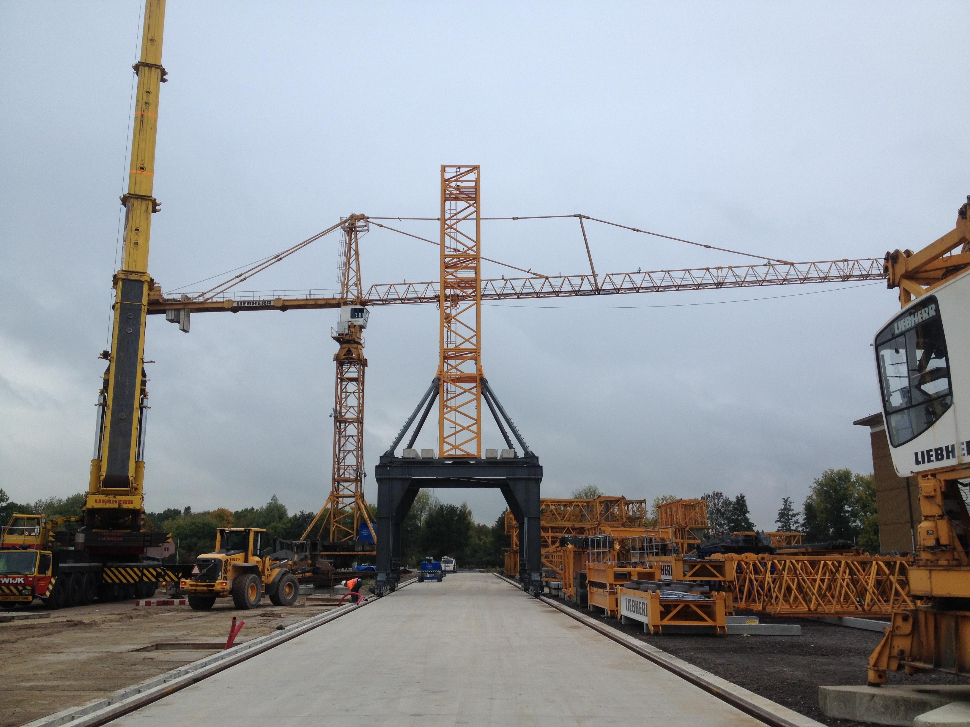 New Crane Track At Van Der Spek Vianen Bemo Rail De